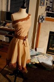 Pocahontas Costume Pocahontas Costume A Princess Costume Dressmaking On Cut Out
