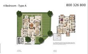 floor plans mudon villas dubailand