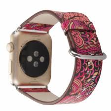 bracelet strap images Leather watch band for apple watch 38mm 42mm series 1 series 2 jpg