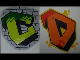 simple graffiti tutorial step by step 2 how to draw c and d