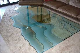 10 photos shattered glass coffee tables