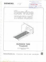 burdick t600 treadmill