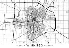winnipeg map every road in winnipeg map printable winnipeg map print