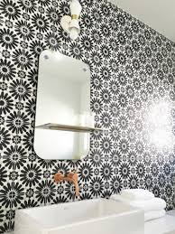 cement tile black and white cement tile bathroom cococozy