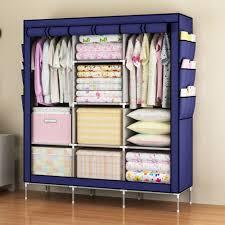 Clothes Cabinet Online Get Cheap Portable Wardrobe Closet Aliexpress Com