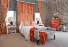 Pink And Orange Shower Curtain Awesome Orange And Gray Curtains And Curtains Ideas Orange And