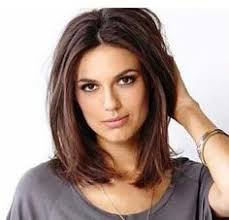long bobs with dark hair 50 gorgeous shoulder length haircuts shoulder length haircut