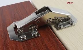 non mortise cabinet hinge 20pcs lot 4 surface mount concealed hinge 90 deg non mortise