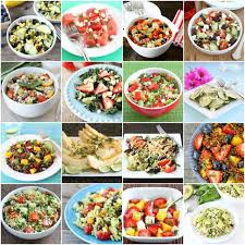 20 summer salad recipes healthy salad recipes two peas u0026 their pod