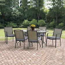 patio table with removable tiles outdoor dining table ebay
