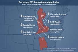 toyota car prices in usa the 2015 american made index news cars com