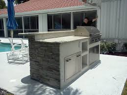 portable outdoor kitchen island custom outdoor kitchen in florida image 2 u2014 gas grills parts