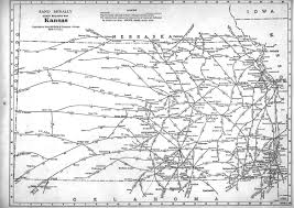 Ohio Railroad Map by P Fmsig 1948 U S Railroad Atlas