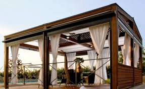 Modern Pergola Designs by Decorating Exciting Wood Pergola Design With White Outdoor