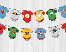 marvel baby shower banner marvel party party superheroes