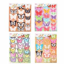 Home Patterns by 18pcs 4 Patterns 3d Butterfly Crystal Wall Stickers Decor Wall