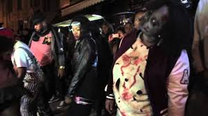 thriller flash mob in harlem halloween 2014 by chet whye movie