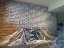 whitewash a brick fireplace wall adamsooley ca