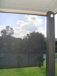 Outdoor Solar Shades For Patios Cheap U0026 Easy Solar Shield Solar Patios And Backyard