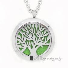s day locket stainless steel hollow tree locket diffuser pendant essential