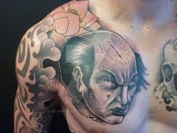 japanese horror tattoo by blackstartattoo on deviantart