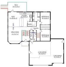 bi level house floor plans bi level house plan with a bonus room 2010542 by e designs split
