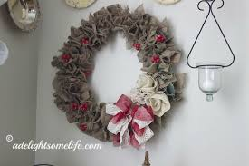burlap christmas wreath christmas burlap wreath tutorial