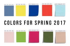 colores para primavera 2017 u2013 the glammar