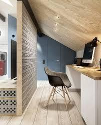 sous bureau design décoration d un appartement au style scandinave et industriel