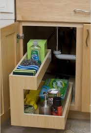 kitchen sink storage ideas creative ways to store cleaning supplies cleaning