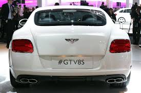 news checking out the 2014 bentley continental gt v8 s