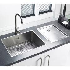 Apron Sink With Backsplash by Kitchen Sinks Farmhouse Sink With Drainboard Rectangular Beige
