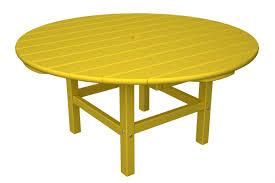 Polywood Furniture Dealers Polywood Round Conversation Table U0026 Reviews Wayfair
