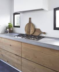 Timber Kitchen Designs Kitchen Design Ideas With Recycled Timber Doors Natural Modern