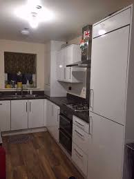 kitchen cabinets worktop and hob for sale high end white gloss