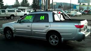 subaru 2004 custom 2004 subaru baja turbo sport utility pickup youtube