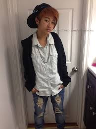 justin bieber kpop boy band halloween makeup hair and costume