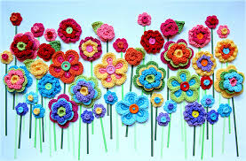 button flowers fabulous crochet button flowers bright beautiful and easy to make