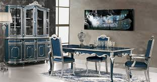 italian dining room sets sets white high gloss wood table black