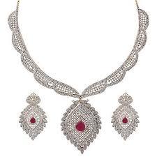 diamond ring necklace images American diamond jewelry at rs 1139 piece american diamond jpg