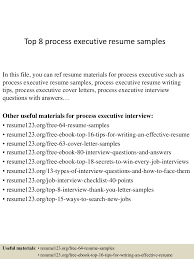 Best Resume Format For Experienced In Bpo by Top8processexecutiveresumesamples 150407034604 Conversion Gate01 Thumbnail 4 Jpg Cb U003d1428396409