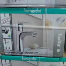 hansgrohe kitchen faucet costco costco deal hansgrohe talis e single bath faucet 49 97