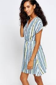 coloured dress multi coloured striped dress just 5