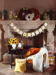 burlap thanksgiving banner 8 fabulous fall mantel ideas hgtv s decorating design hgtv