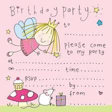 free printable kids birthday party invitations templates badbrya com
