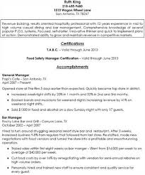 General Manager Resume Example by Bar Resume Examples Top Best Resume Examples Ideas On Pinterest