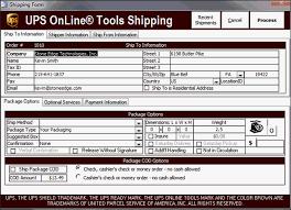 printable job application for ups printing integrated ups shipping labels