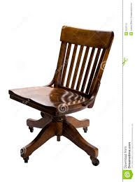 Antique Swivel Office Chair by Antique Office Chair Stock Photo Image 3530110