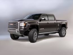 truck gmc gmc sierra all terrain hd concept 2011 pictures information