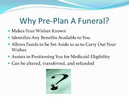 how to plan a funeral pre planning powerpoint